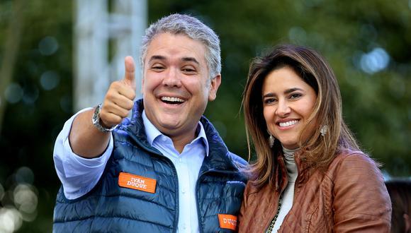 Polémica en Colombia: avión presidencial fue usado por María Juliana Ruiz, esposa de Iván Duque, para ir a fiesta de cumpleaños. Llevó a sus hijos y a otras personas. Foto: Archivo de EFE