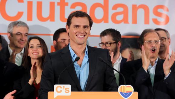 Albert Rivera, el nuevo líder contra la secesión catalana