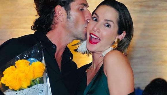 """Carmen Villalobos y Gregorio Pernía han compartido papeles en telenovelas como """"Sin senos no hay paraíso"""". (Foto: Gregorio Pernía / Instagram)"""