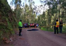 Apurímac: hallan muerto a teniente alcalde distrital en medio de carretera