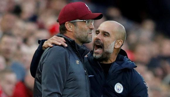 Entre Guardiola y Klopp se han repartido los títulos de la Premier League en las tres últimas temporadas. (Foto: Reuters)