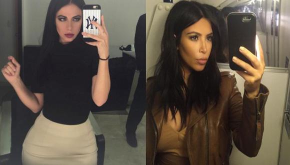 Periodista mexicana fue confundida con Kim Kardashian