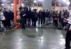 Oficial neoyorquino reta a bailarín profesional