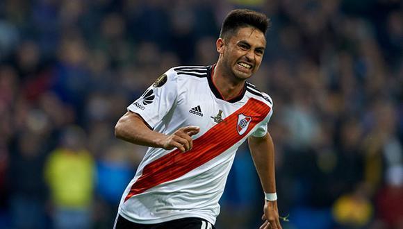 Gonzalo 'Pity' Martínez reclamó en sus redes sociales la falta de Carlos Tévez (Photo by Quality Sport Images/Getty Images)