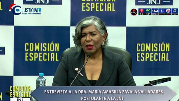 María Zavala integrará la Junta Nacional de Justicia (JNJ). Jurará al cargo el lunes 6 de enero