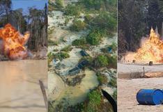 Madre de Dios: destruyen 45 campamentos de minería ilegal en zona donde viven comunidades indígenas aisladas