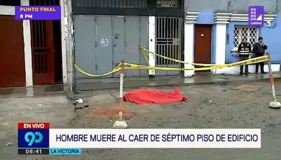 El sujeto identificado como César Raúl Cárdenas Gamboa (40) regresó de una fiesta con dos amigos en horas de la madrugada. (Latina)