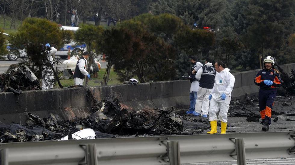 Estambul: Caída de helicóptero en autopista deja 7 muertos - 5