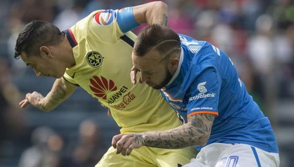 América venció 2-0 a Cruz Azul por el Apertura en la Liga MX