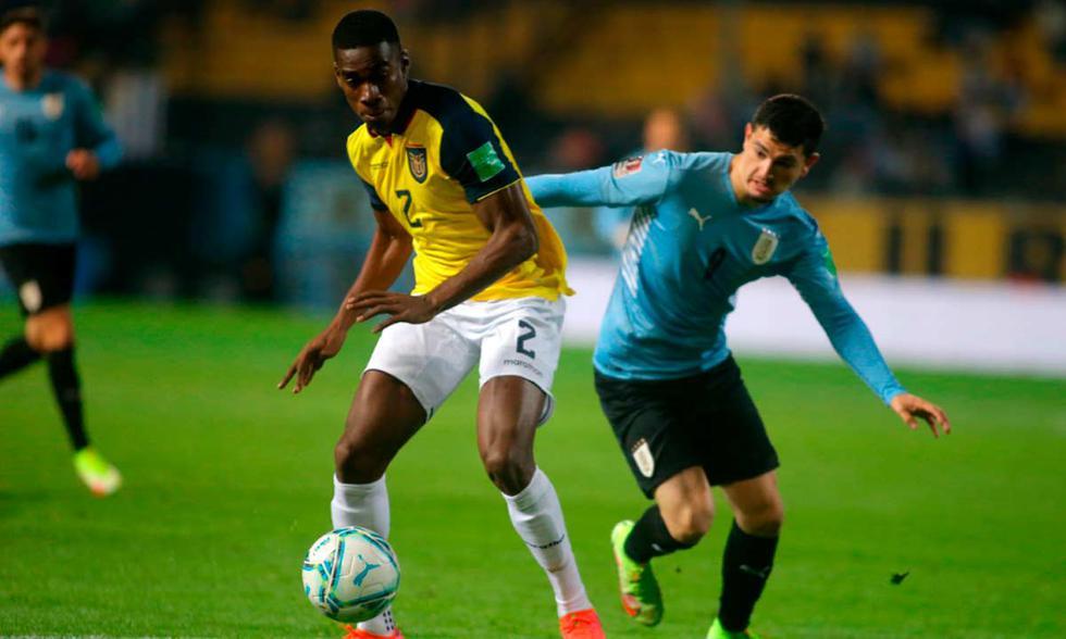 Uruguay recibe a Ecuador por las Eliminatorias sudamericanas | Foto: EFE.