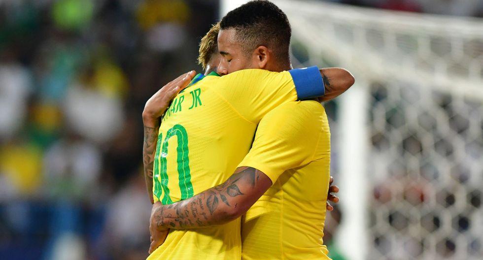 Brasil se mide ante Arabia Saudita esta tarde (12:45 m. / EN VIVO ONLINE vía DirecTV Sports) en un partido amistoso internacional por fecha FIFA en el King Saud University Stadium. (Foto: AFP)