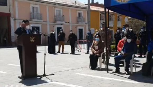 Alcalde de Puno pide prisión preventiva para médicos y enfermeras que abandonan sus puestos de trabajo (Foto: captura de pantalla | Gore Puno)