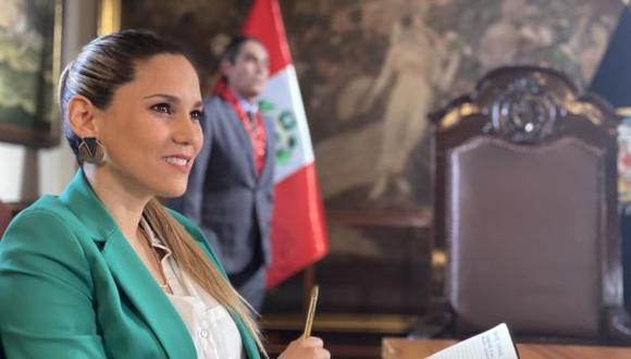 """María Grazia Gamarra se une al elenco de la serie """"Luz de luna"""". (Foto: Del Barrio Producciones)"""