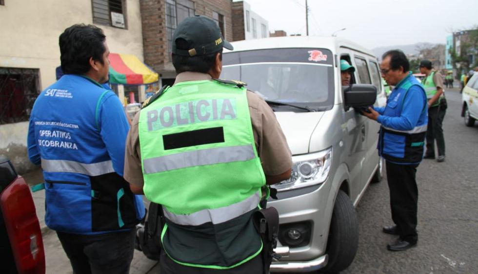 El operativo, ejecutado por Protransporte y la Gerencia de Transporte Urbano (GTU), contó con el apoyo de la Policía Nacional del Perú (PNP). (Municipalidad de Lima)