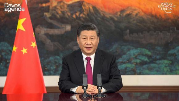 """Xi Jinping declara el """"completo éxito"""" de China en la lucha contra la pobreza. (AFP)."""
