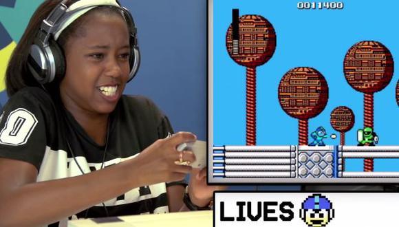 Youtube: Así reacciona un adolescente frente a juegos retro
