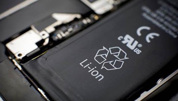 Batería de un smartphone actual. (Foto: La Nación - Argentina)