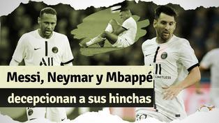Champions League: debut del PSG deja las primeras críticas al trío Messi, Neymar y Mbappé