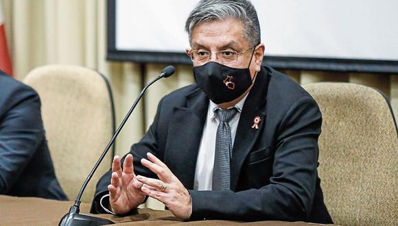 Iván Merino anunció que es necesaria una renegociación del gas de Camisea en su presentación ante el Congreso de la República. (Foto: Minem   Difusión)