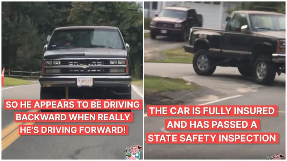 Cosas inusuales se han visto en las carreteras, pero nada como lo que se sucedió en Massachusetts, Estados Unidos y que ha desconcertado a todos en Facebook. (Foto: captura de video)