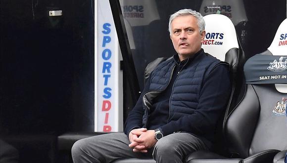 José Mourinho es entrenador de Tottenham desde la temporada 2019. (Foto: AFP)