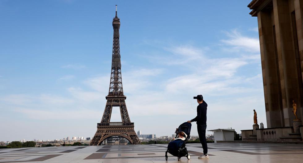 Francia está en confinamiento para frenar la pandemia de coronavirus. (Foto: AFP / THOMAS COEX).