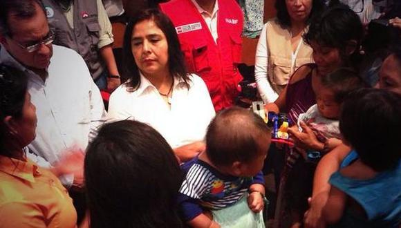 Ana Jara se dirige a la comunidad de Saweto