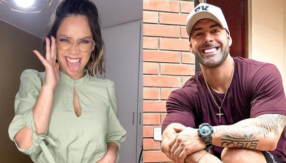 Tras anunciar que ya conviven, Andrea San Martín y Sebastián Lizarzaburu viajaron juntos a Estados Unidos. (Foto: Composición/Instagram)