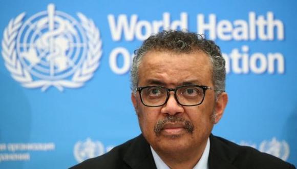 Tedros Adhanom Ghebreyesus, director general de la OMS. (Reuters).