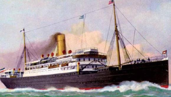 Primera Guerra Mundial: El Prinz August Wilhelm fue inaugurado en 1903.