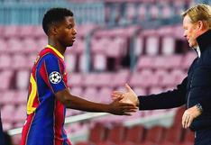 Barcelona entrega carnet de socio a Ansu Fati mientras se recupera de su lesión