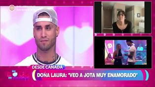 "Mamá de Jota Benz: ""Angie Arizaga para mi será una hija más"""