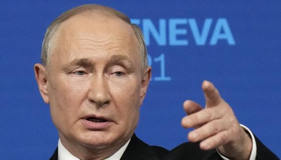 El presidente de Rusia Vladimir Putin. (Foto: Alexander Zemlianichenko / POOL / AFP).