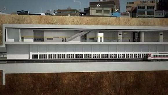 Así se hará el tren subterráneo que recorrerá Lima desde 2016