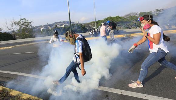 Venezuela: Juan Guaidó   Leopoldo López   El levantamiento militar contra Nicolás Maduro en fotos. (Rolly Reyna / El Comercio)