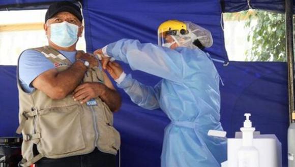 El hospital Larco Herrera vacunó a más del 80% de su personal de primera línea contra el coronavirus | Foto: Minsa
