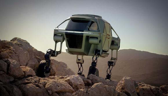 El Hyundai Elevate Concept puede funcionar tanto para situaciones de emergencia, como para ayudar a personas con necesidades especiales.