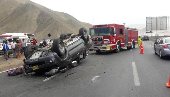 Siniestro ocurrió cerca de la zona conocida como Las Zorras. (Foto: referencial)