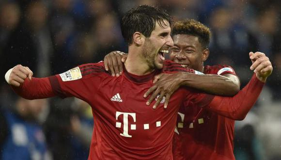 Bayern Múnich venció 3-1 a Schalke 04 por la Bundesliga