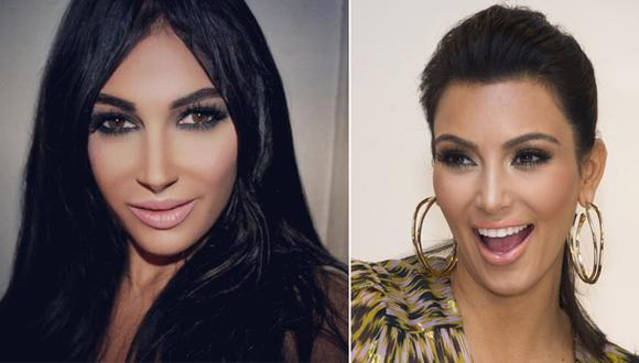 Mujer gastó 30 mil dólares para parecerse a Kim Kardashian