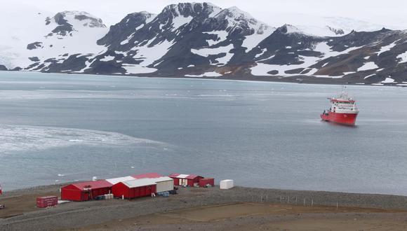 El BAP Carrasco zarpó del Callao el pasado 7 de diciembre, y navegará aguas antárticas hasta llegar a la estación peruana Machu Picchu. (Foto: Óscar Paz Campuzano)