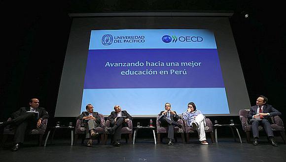 """OCDE: """"Perú está dando buenos pasos en el sector educación"""""""