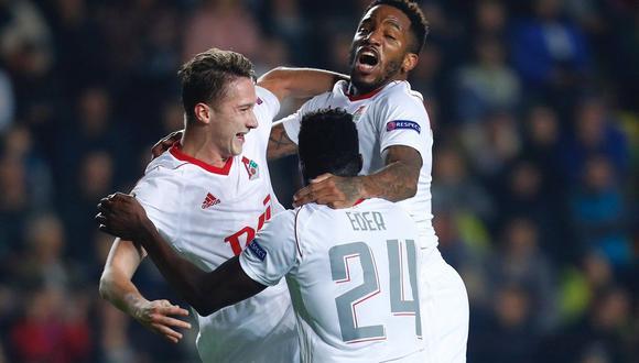 Jefferson Farfán marcó un gol en la victoria del Lokomotiv ante el Krasnodar. (Foto: Reuters)