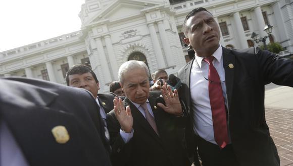 A inicios de enero de este año, Pedro Chávarry renunció a la Fiscalía de la Nación en medio de una crisis generada por la remoción de los fiscales Vela y Pérez del equipo especial Lava Jato. (Foto: GEC)