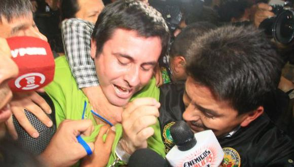 Paul Olórtiga salió en libertad tras 74 días en penal Río Seco