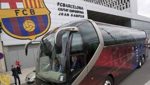 Barcelona y Real Madrid concentrarán en el mismo hotal horas antes del clásico por la Liga Santander. (Foto: Twitter)