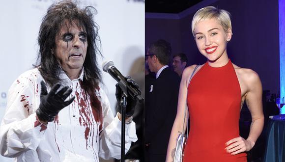 ¿Qué dijo Alice Cooper sobre la controvertida Miley Cyrus?