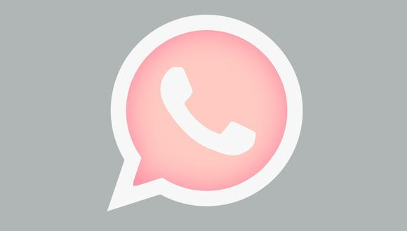 ¿Quieres tener el ícono de WhatsApp en rosado? Usa estos pasos. (Foto: PNGKey)