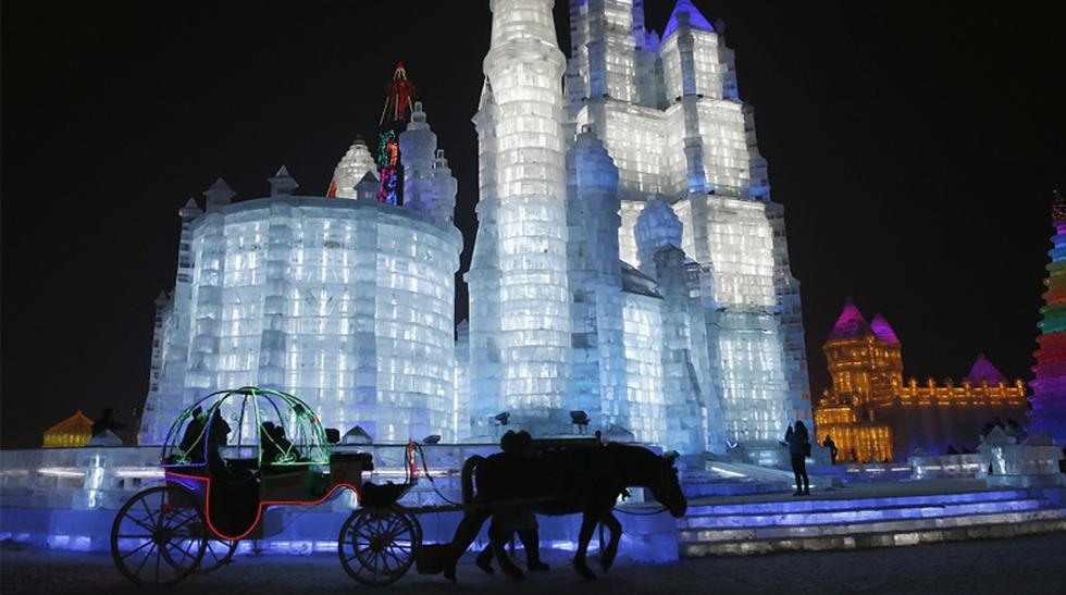 Magia fría: conoce este festival de hielo celebrado en China - 5