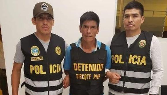 Water Chimayco fue capturado a la salida de su local de votación, el domingo pasado, en San Miguel del Ene (Vizcatán del Ene) por agentes de la Dircote.
